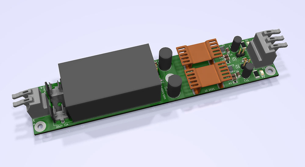Audictive low noise dual power supply internal version